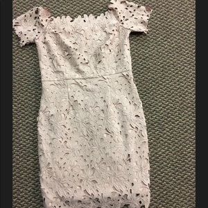 Design lab lord & Taylor dress light pink size S
